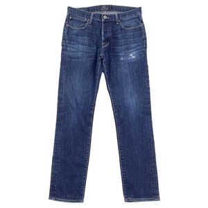 Lucky Brand Jeans 1 Authentic Skinny Button Fly 32